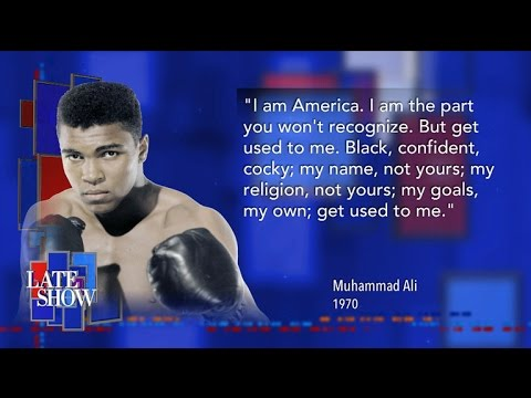 Stephen Pays Tribute To Muhammad Ali, With Help From Kareem Abdul-Jabbar