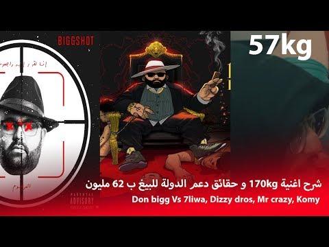 ها شنو واقع فالراب المغربي، شرح الخلاف بين البيغ و حليوة 😱! | Don bigg Vs Dizzy dros