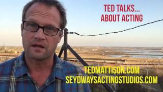 Ted Talks...About Acting