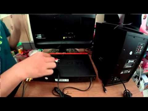 Kabel Speaker Ke Tv Led : cara menghubungkan kabel rca dari dvd ke aktif speaker dan tv led youtube ~ Vivirlamusica.com Haus und Dekorationen