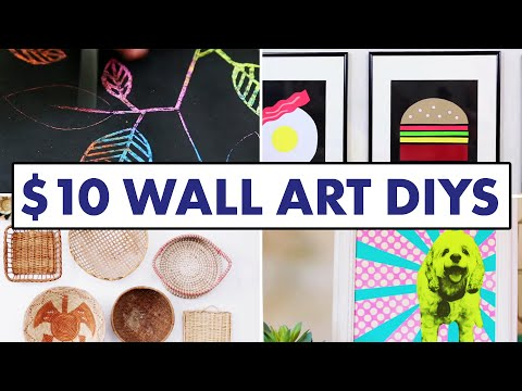 10 Wall Art DIYs for Less Than $10 - HGTV Handmade