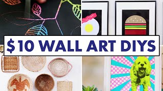 10 Wall Art Diys For Less Than $10   Hgtv Handmade