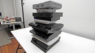 PS4 vs PS3 vs PS2 vs PS1 (PlayStation Evolution)