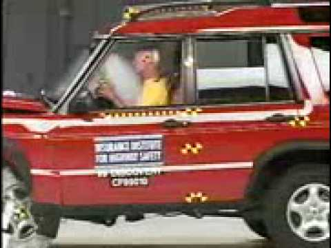 Crash Test 1999 2004 Land Rover Discovery Ii Frontal