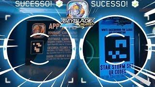 Como escanear QUALQUER QR Code no Beyblade Burst App