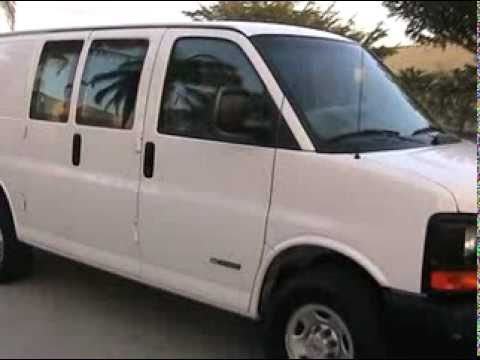 Chevy Express Van >> 2004 Chevrolet Express Van Cargo G3500 6.0 L V8 www.southeastcarsales.net - YouTube