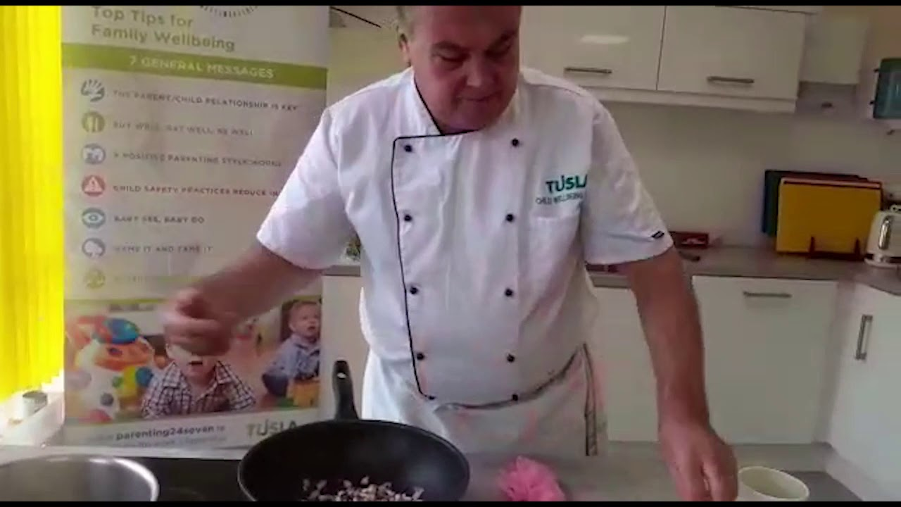 Cavan Food Provision Scheme - Cooking Chicken Curry