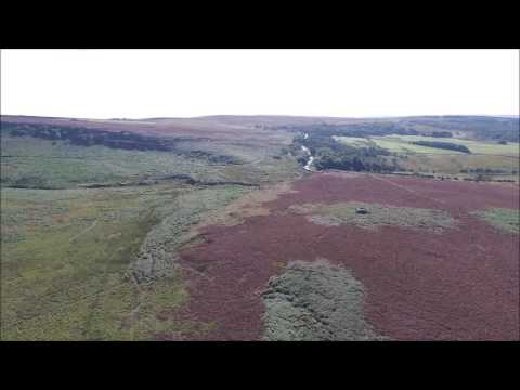 Burbage Edge, Peak District, Aerial Video