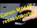 Canon MP540 reset absorber