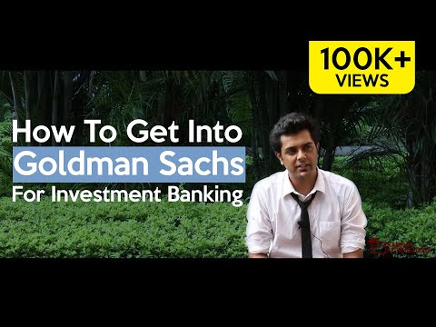 How To Get Into Goldman Sachs For Investment Banking - A Fresher's Journey - Awiral Gupta, IIM I
