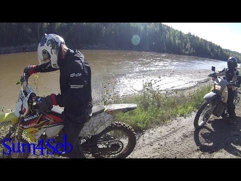 Off Road in Alberta - Episode 5 Canada Road Trip 2016 |¦| Sum4Seb Motorcycle Video