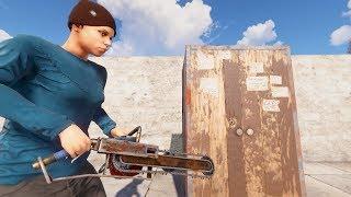 Rust - Шкаф все ресы не отдаст!