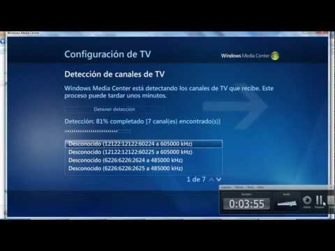 Configurar TV Digital con Windows Media Center y Decodificadores Receptores Digital HDTV