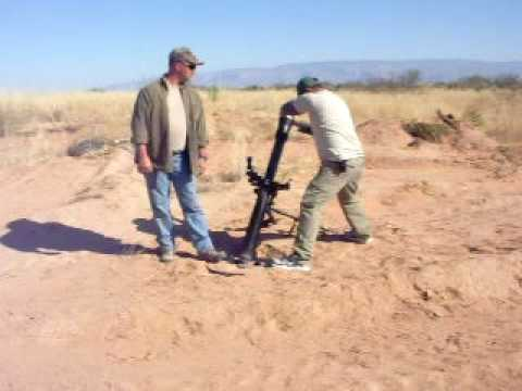 81mm Mortar Shoot
