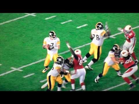 Santonio Holmes Super Bowl Touchdown Catch