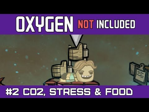 Oxygen Not Included | Removing CO2 with the Air Scrubber and Growing Food