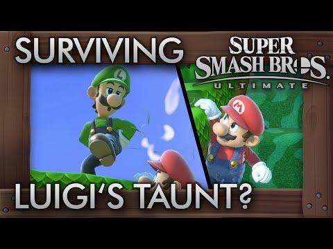 Who Can Survive Luigi&39;s Deadly Taunt? - Super Smash Bros Ultimate