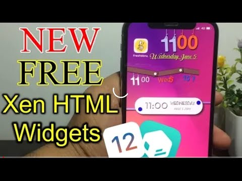 how to install widgets for xen html - Myhiton