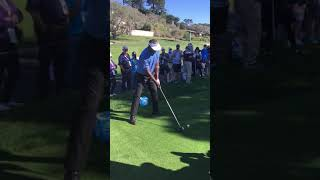 Vijay Singh Driver up 2 at Pebble Beach