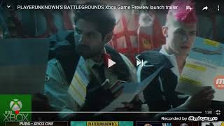 Xbox one game preview PUBG reaction