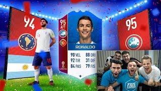 TROVIAMO MESSI E RONALDO! PACK OPENING DEL BUEO MARSO!! | FIFA 18 MONDIALI LIVE