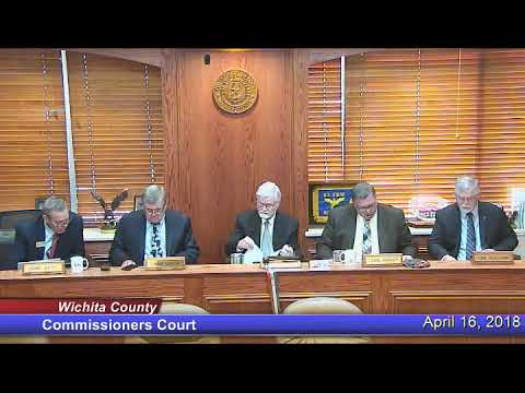 Commissioners Court 04-16-18