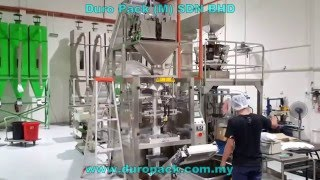 1KG Coffee bean fully auto packing machine with degassing valve