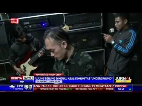 Komunitas Musik Underground Bandung Terbesar ke-5 Sedunia