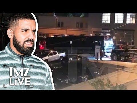 Drake: Dude Where's My Tour Bus? | TMZ Live