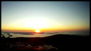 Acadia National Park - Cadillac Mountain Sunrise