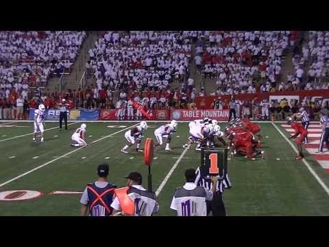 Fresno State bulldogs score first touchdown against Rutgers