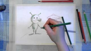 32 Ирина Колобова Урок рисования инопланетянина