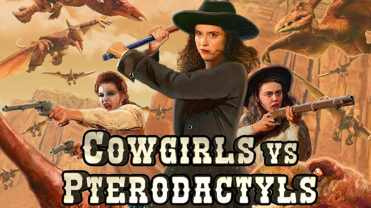 COWGIRLS vs PTERODACTYLS (2021) Official Trailer