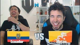 ECUADOR VS BUTÁN! LIGA KOPANITOS #2