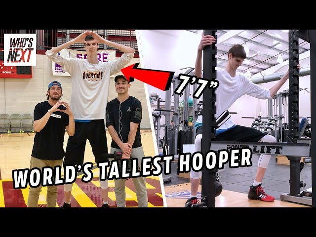 This 7'7 HS Junior Is Now LAMELO BALLS Teammate. Can Robert Bobroczky Go From Spire To The NBA? ????