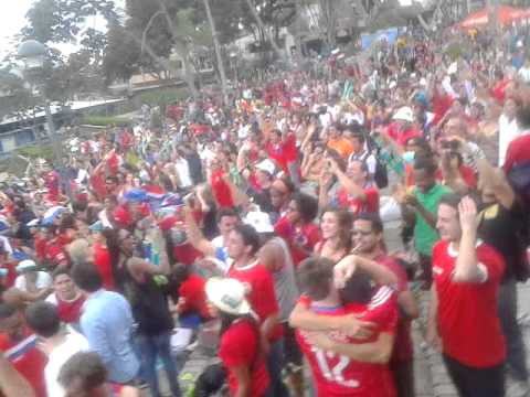 Locura Total Costa Rica 3 Uruguay 1