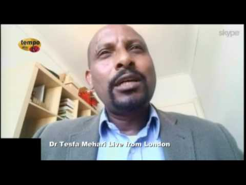 Tempo Afric TV - Asmara University -  pre and post independence, Conversation with Dr. Tesfa Mehari