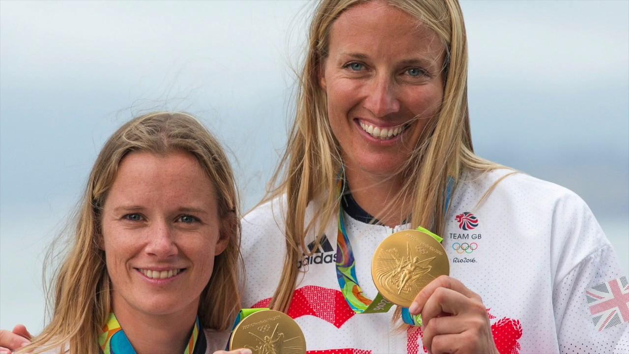 da2291929b54 Hannah Mills and Saskia Clark - An emotional journey from London 2012 silver  to Rio 2016 gold