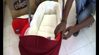 chicco chicco i move carry cot red