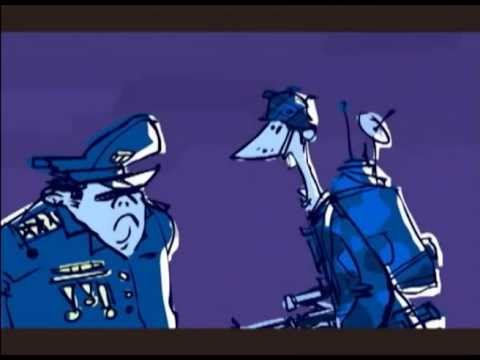 """""""Red & Blue"""" 2009. Annecy International Animated Film Festival - France, competition short movie"""