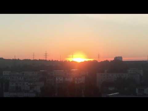 Восход солнца заснятый мной 12.07.16