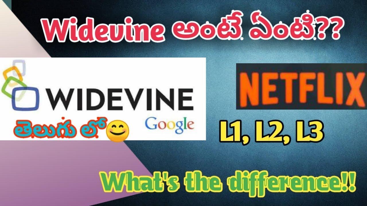 What Is Widevine??| L1,L2,L3 | 🔥Explained In Telugu 2019 #techunboxtelugu
