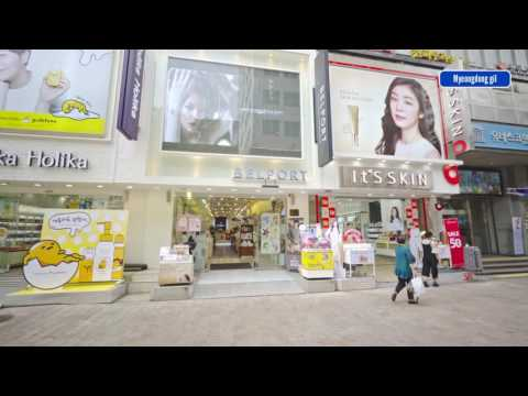 Myeongdong Street View 4K - Part 2 of 2