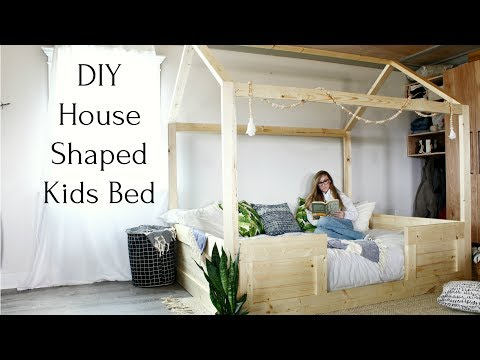 diy-house-shaped-kids-bed-{easy-to-build-from-construction-lumber!}