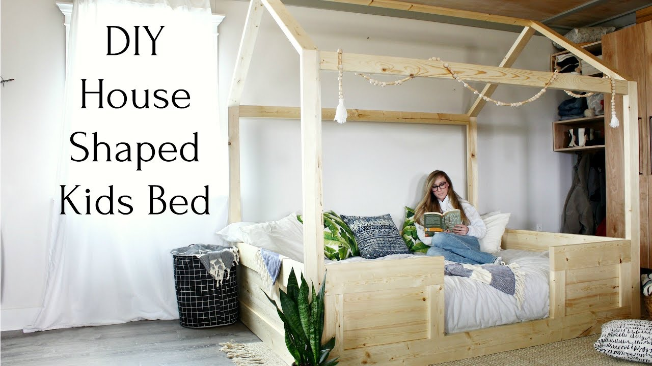 Diy Kids House Bed Twin Size Free Plans To Build Your Own