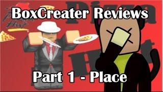ROBLOX BoxCreater Commentaires - Pizza Hut V3