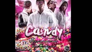 Plan B - Candy ft. Tempo y Arcangel (Remix) [Official Audio]