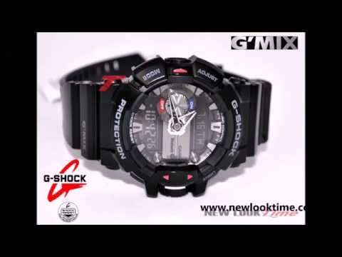 838f93889a0 Relógio CASIO G-Shock G MIX GBA-400-1ADR  Bluetooth - YouTube