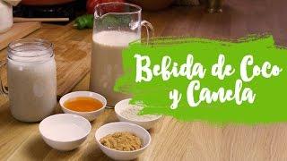 Receta Alcalina y Anticáncer: Bebida de Coco y Canela