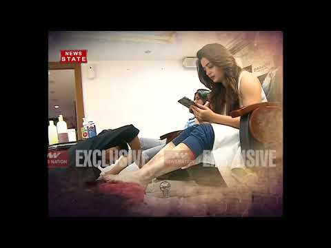 TV artist neha has done pampering on her hands and feet thumbnail